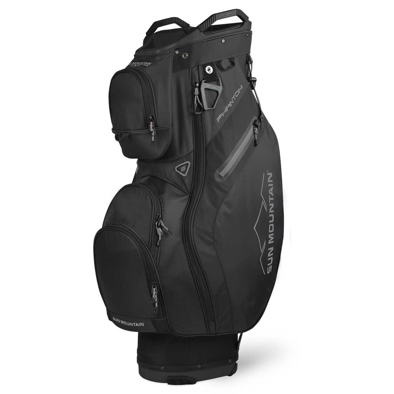 Sun Mountain Phantom Cart Bag - Black