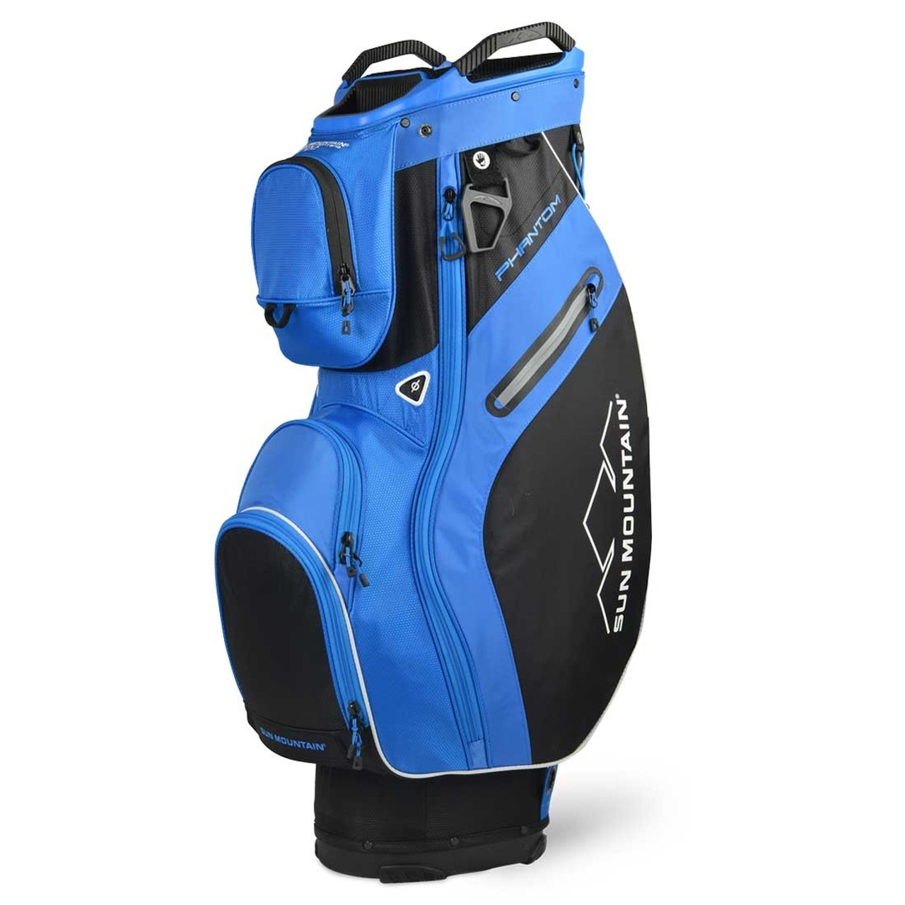 Sun Mountain Phantom Cart Bag - Black / Cobalt