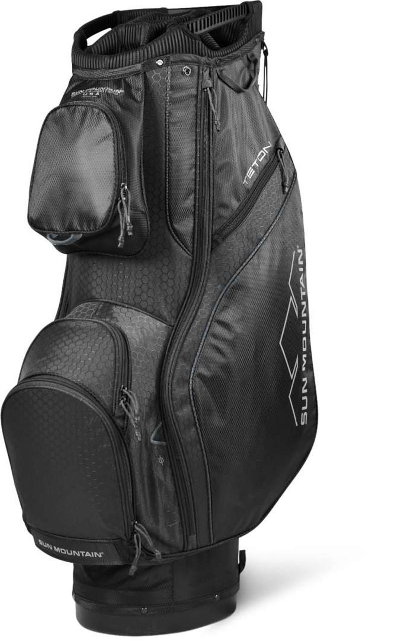 Sun Mountain Teton Cart Bag - Black