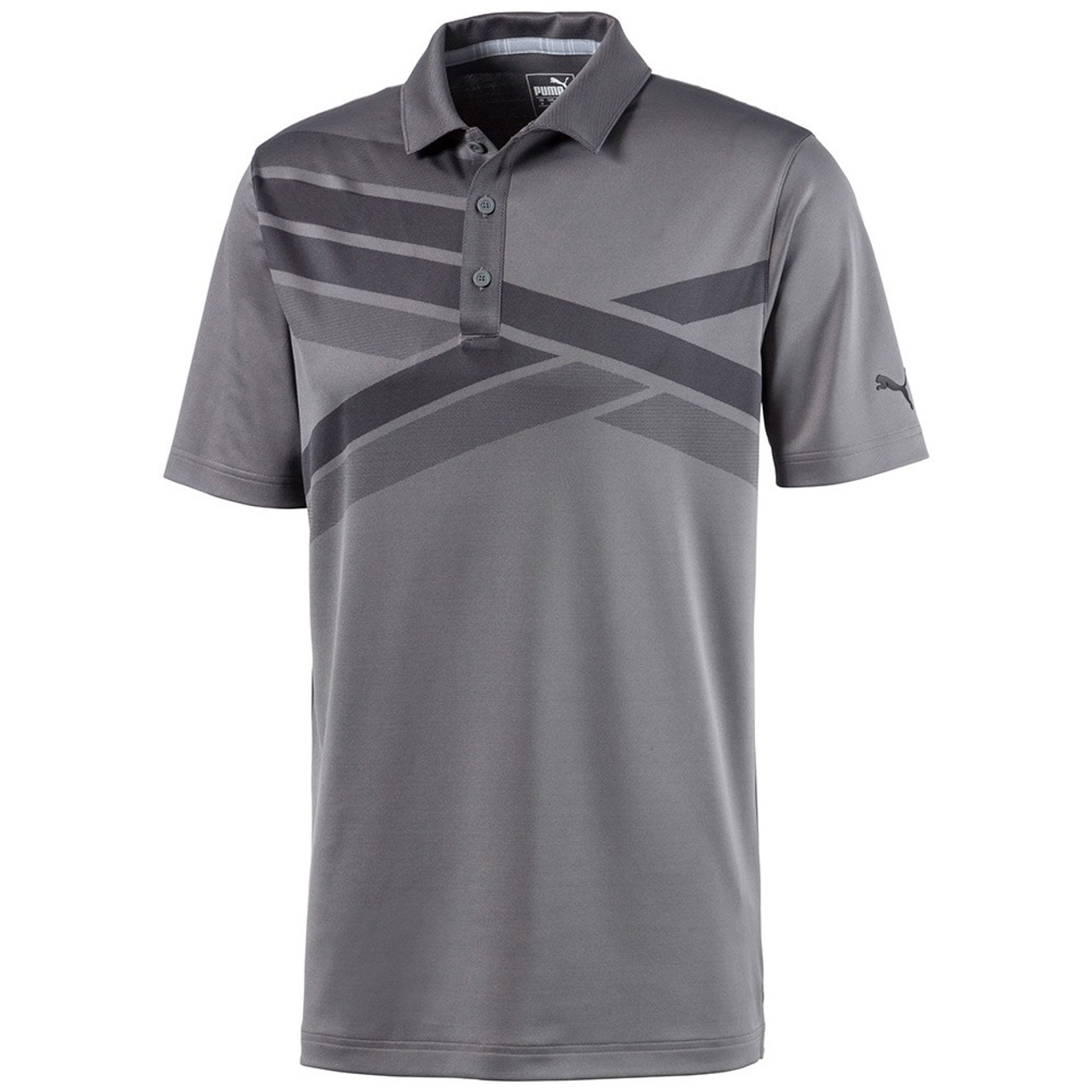 Puma ALTERKNIT Texture Polo - Quiet Shade