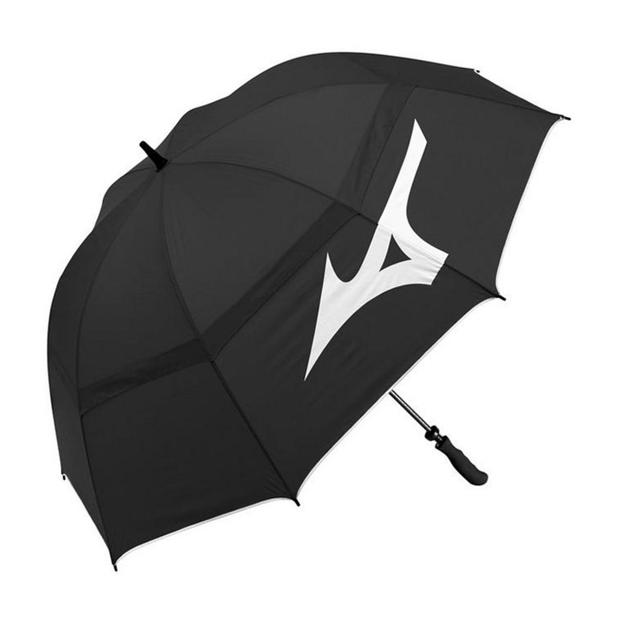 Mizuno Dual Canopy Umbrella- Black / White