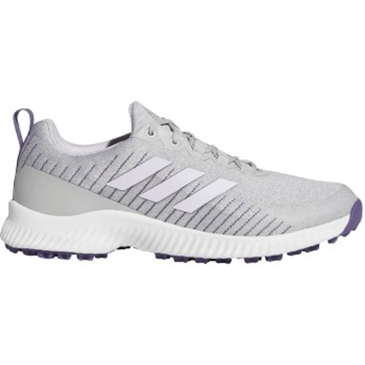 Adidas Womens Response BOUNCE 2 SL Golf Shoes - White / Purple Tint / Grey Two