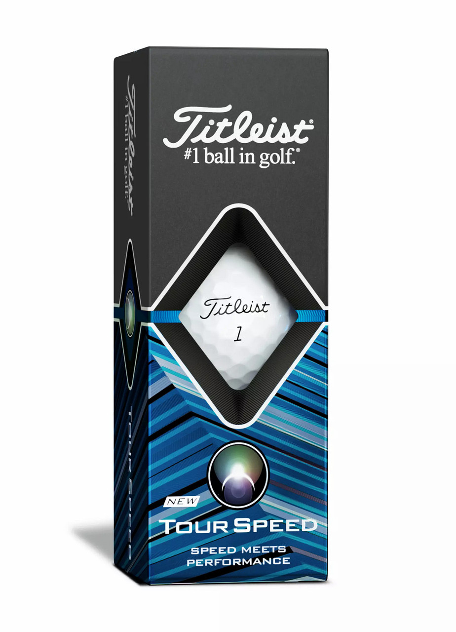 Titleist Tour Speed Personalized Dozen Golf Balls - White