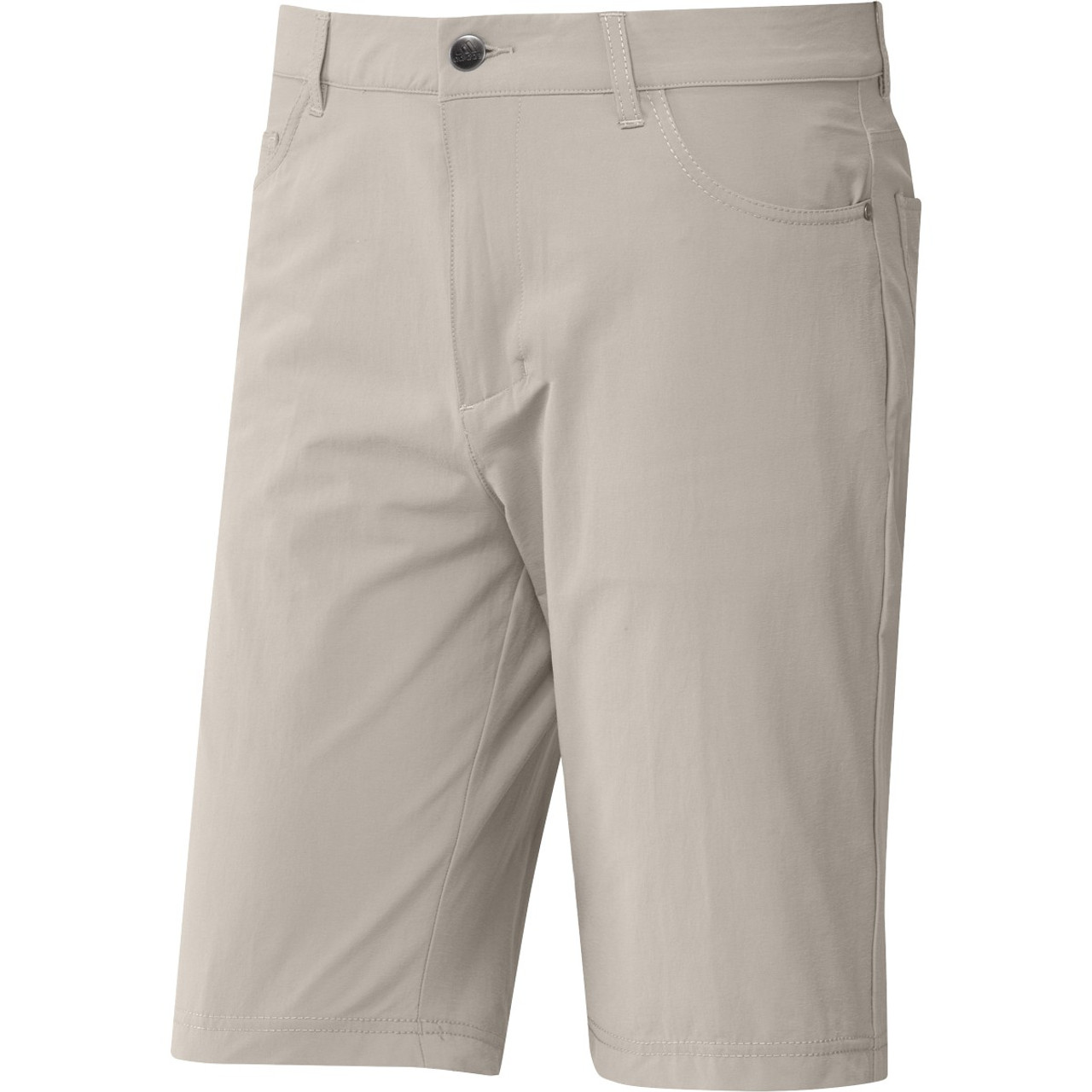 """Adidas GO-TO Five Pocket 10"""" Shorts - Clear Brown"""