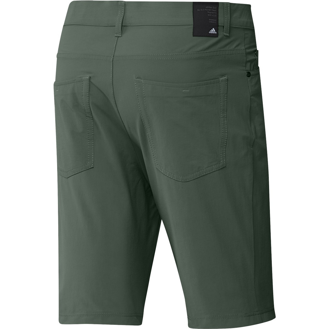 """Adidas GO-TO Five Pocket 10"""" Shorts - Green Oxide"""