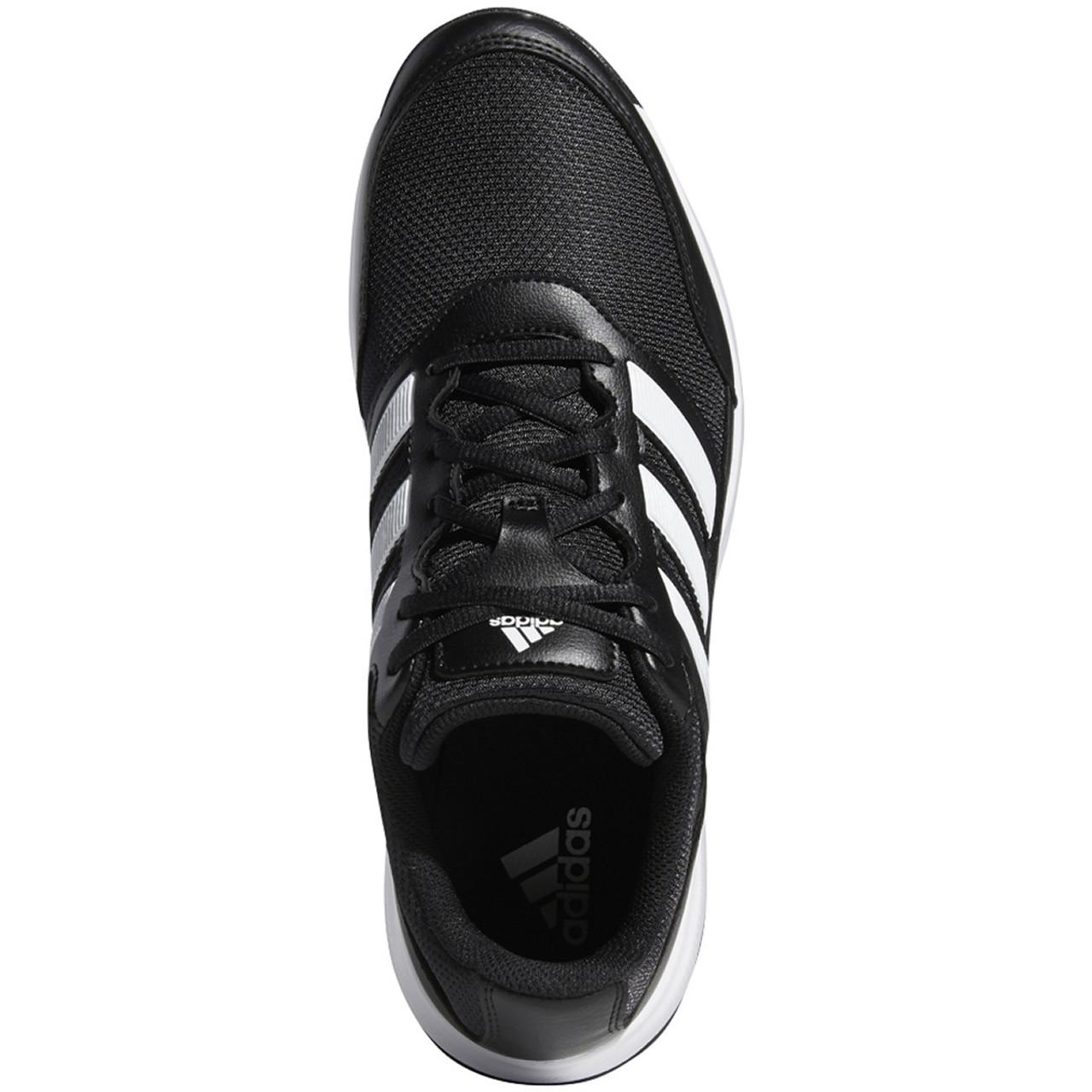 Adidas Tech Response 2.0 Golf Shoes - Black / White / Black