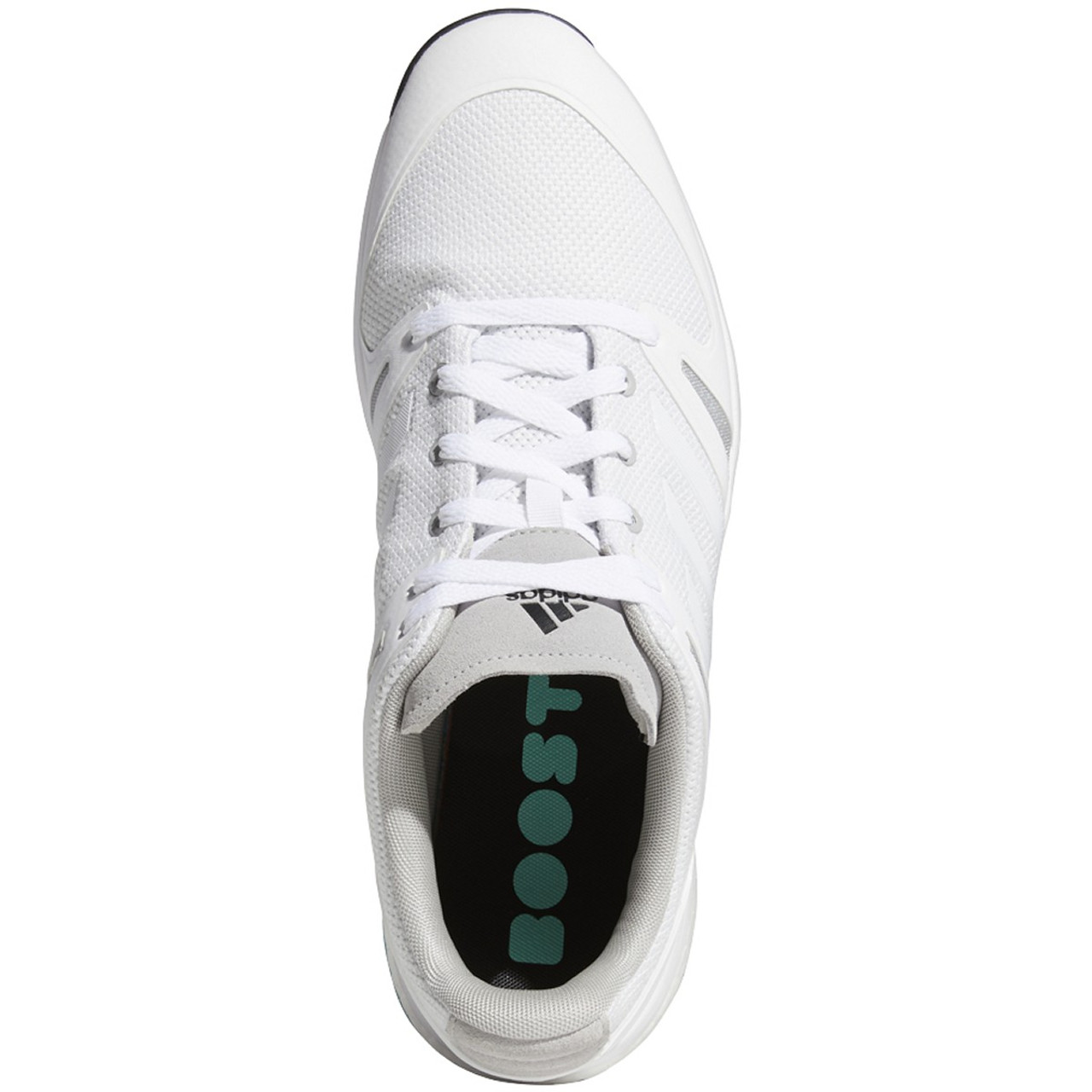 Adidas EQT Spikeless Golf Shoes - White / White / Grey Two
