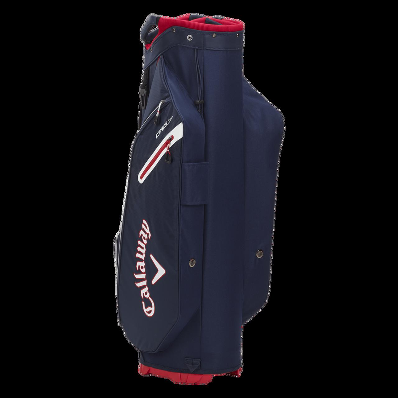 Callaway Org 7 Cart Bag 2021 - Navy / Red / White