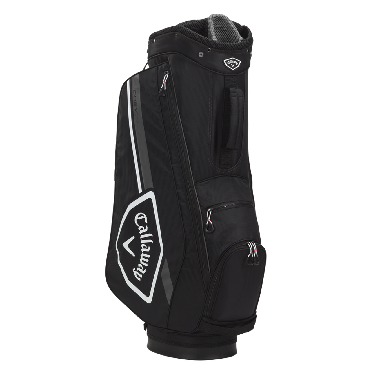 Callaway Chev 14 Cart Bag 2021 - Black / White / Charcoal