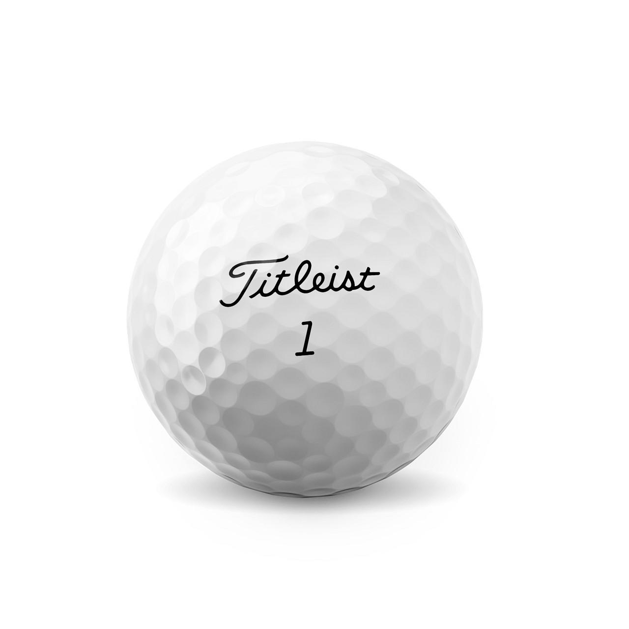 Titleist Pro V1 Dozen Golf Balls 2021 - Low Numbers (#1 - #4)