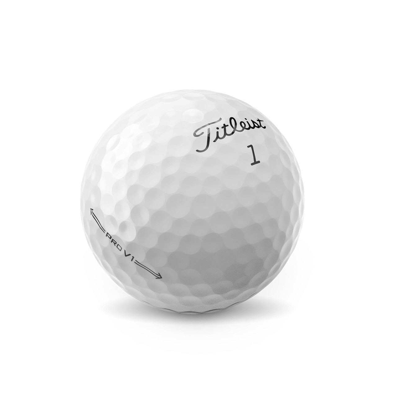 Titleist Personalized Pro V1 Dozen Golf Balls 2021 - Low Numbers (1,2,3,4)