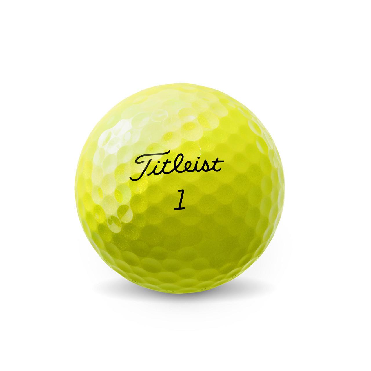 Titleist Pro V1 Yellow Dozen Golf Balls 2021