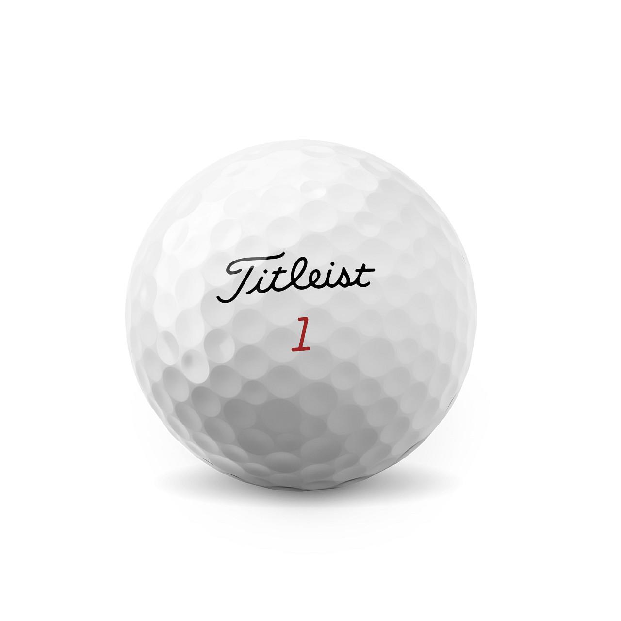 Titleist Pro V1X Dozen Golf Balls 2021 - Low Numbers (#1 - #4)