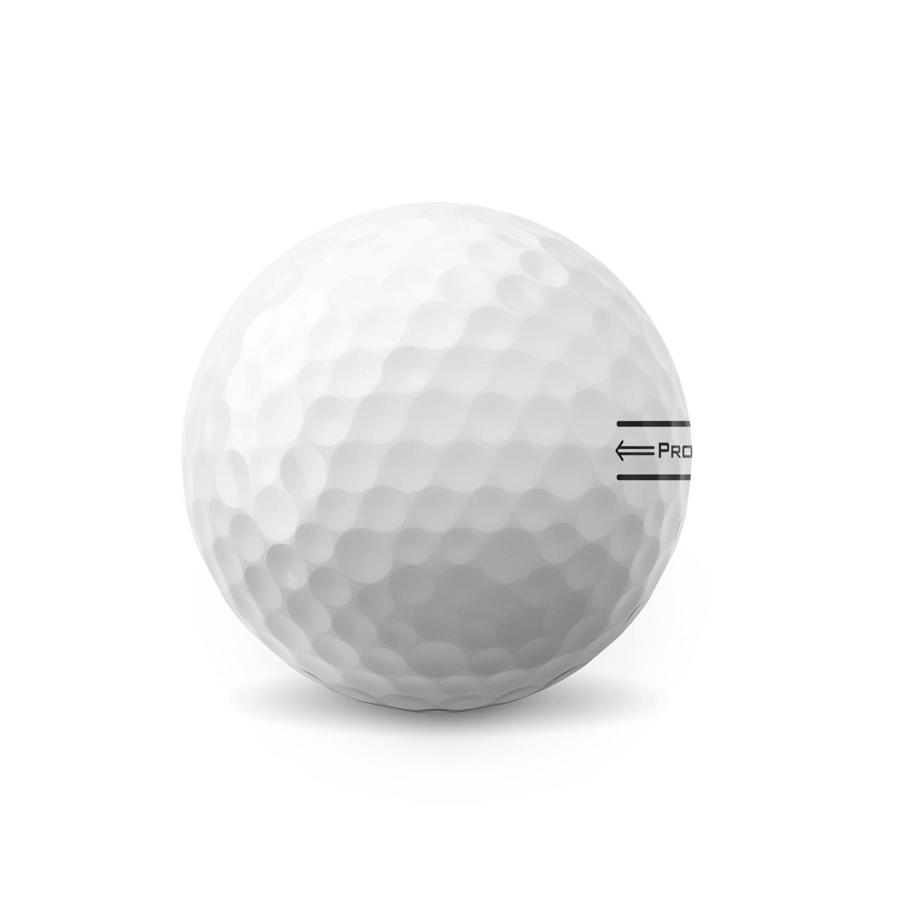 Titleist Personalized Pro V1x Dozen Golf Balls 2021 - Aim Alignment