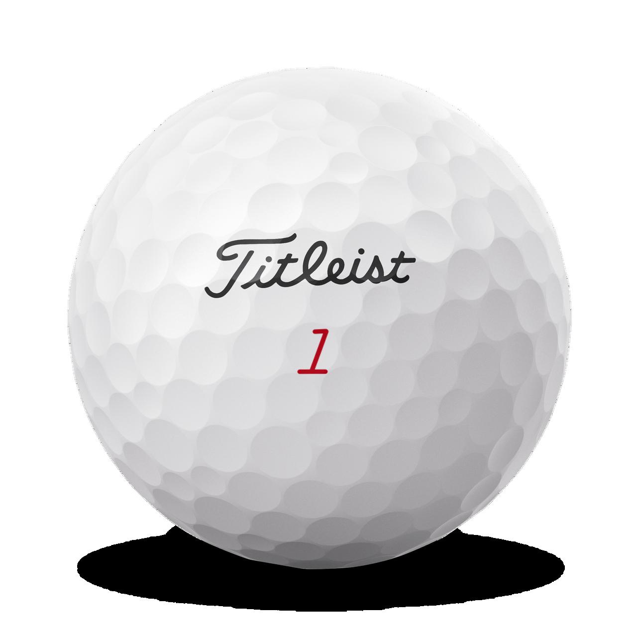Titleist Personalized Pro V1x Dozen Golf Balls 2021 - Left Dash Alignment