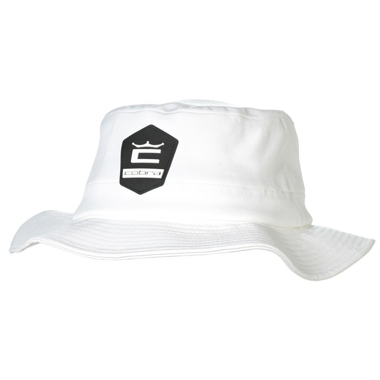 Cobra Crown C Sun Bucket Hat- Bright White
