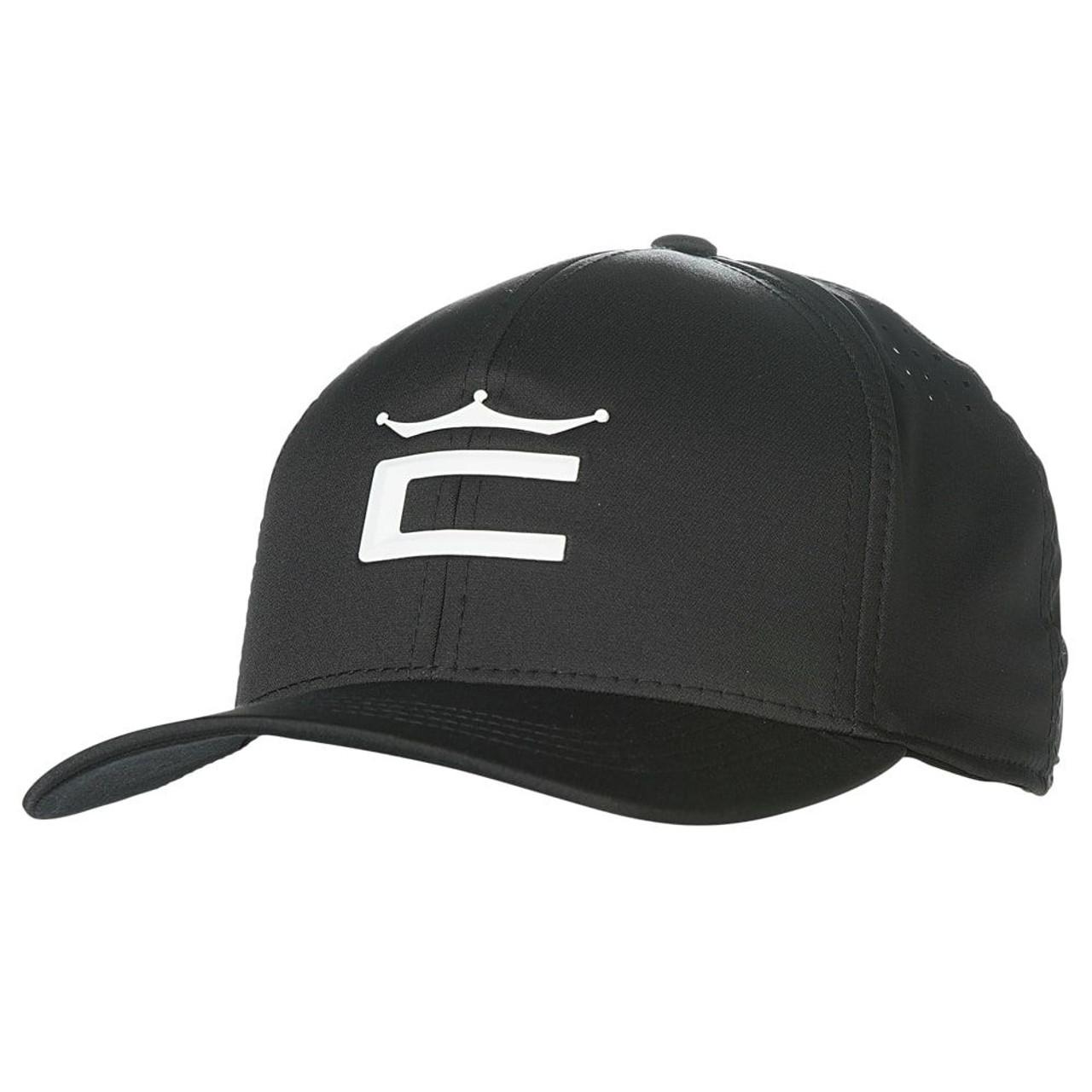 Cobra Tour Crown 110 Cap - Black / White