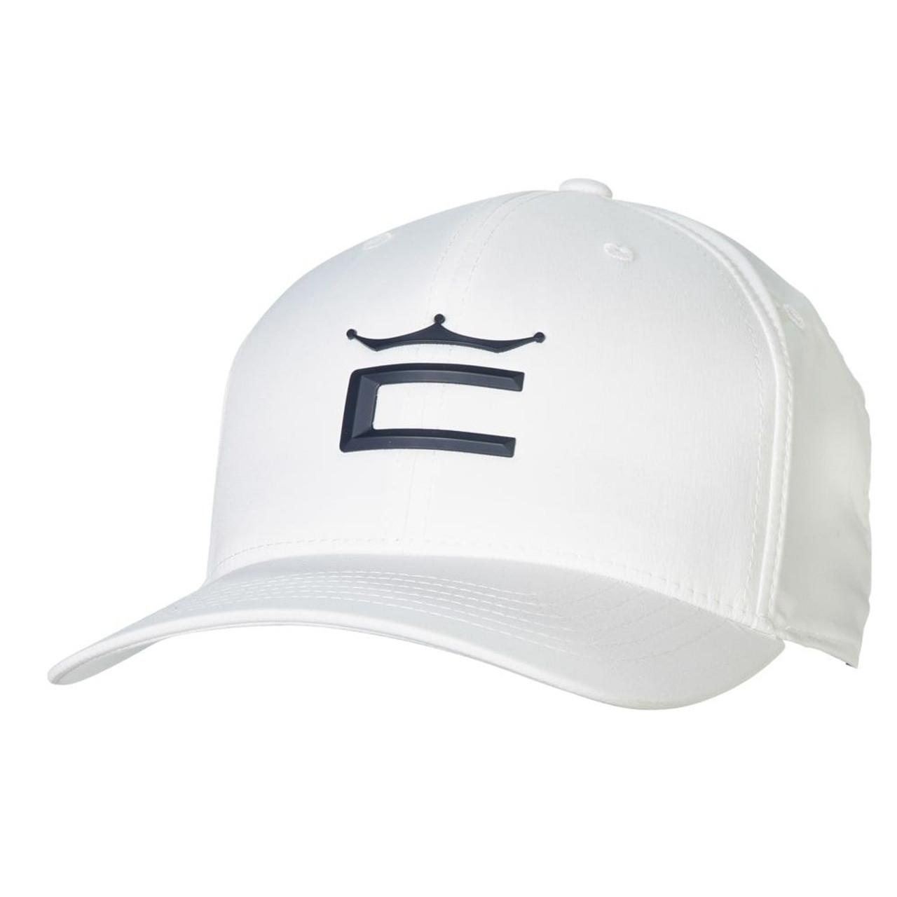 Cobra Tour Crown 110 Cap - White / Navy Blazer
