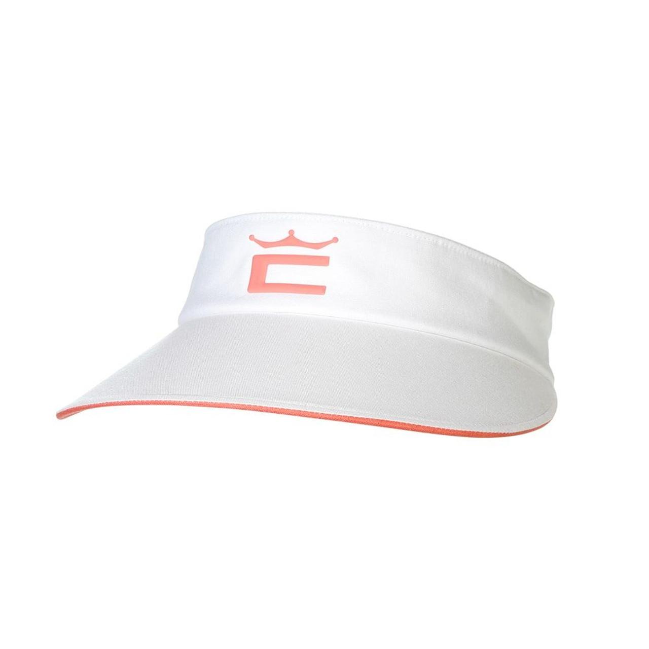 Cobra Women Crown Adjustable Visor - Bright White