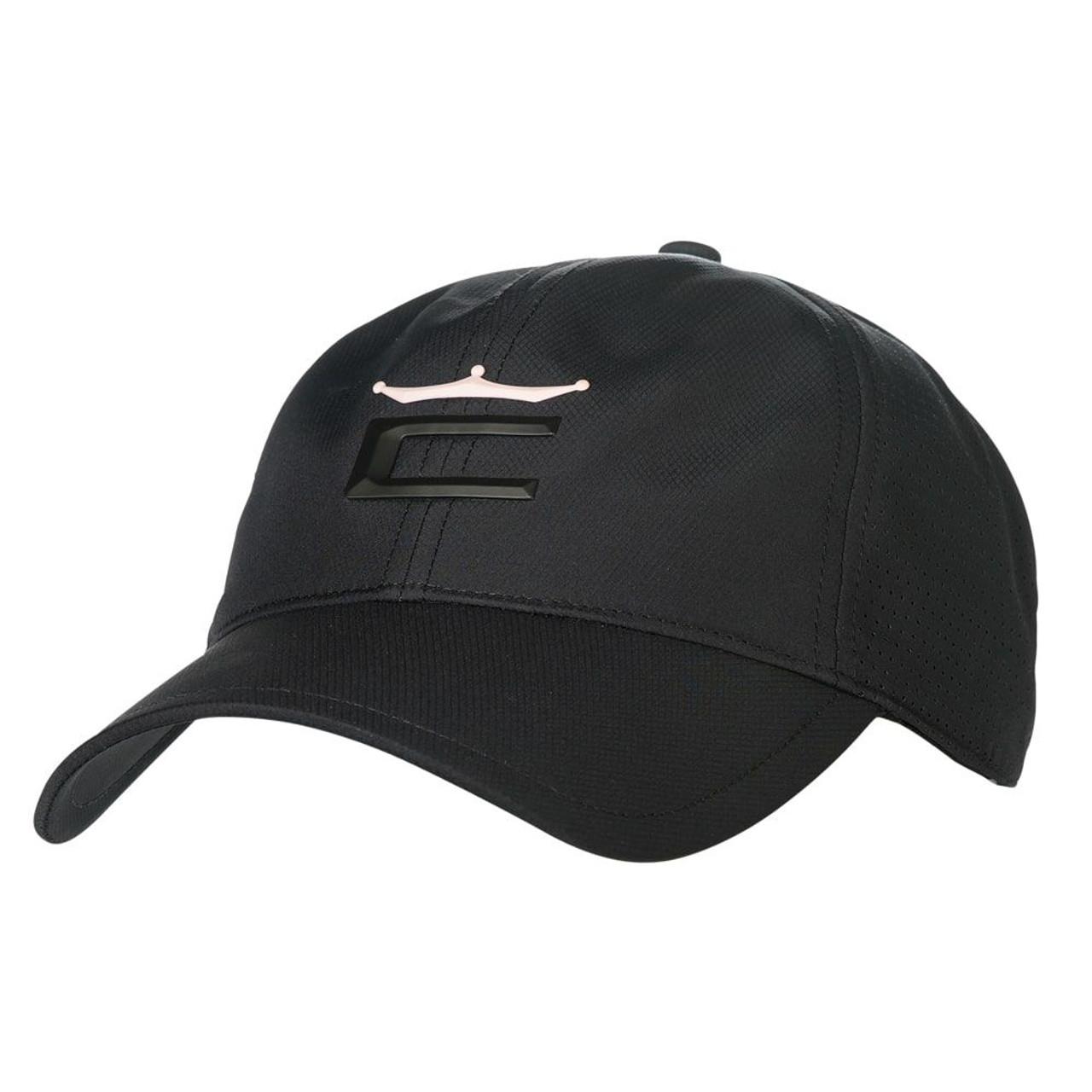 Cobra Women Crown Adjustable Golf Cap - Black