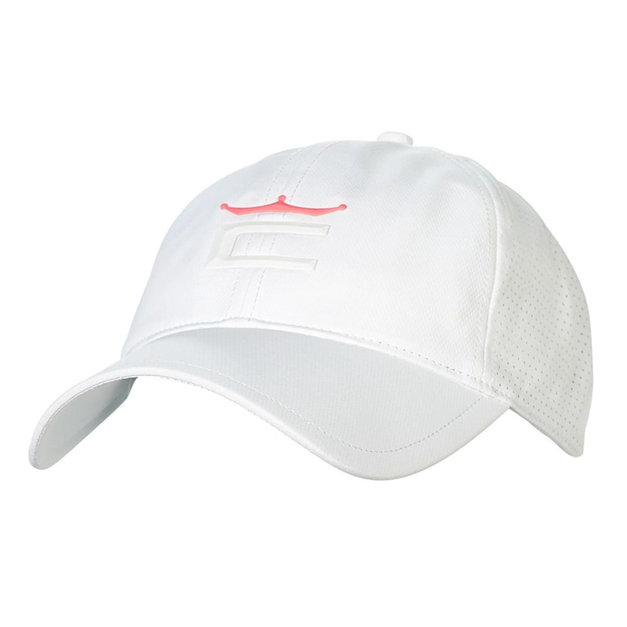 Cobra Women Crown Adjustable Golf Cap - Bright White