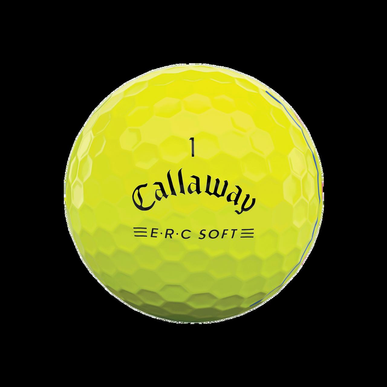 Callaway ERC Soft Triple Track Yellow Dozen Golf Balls