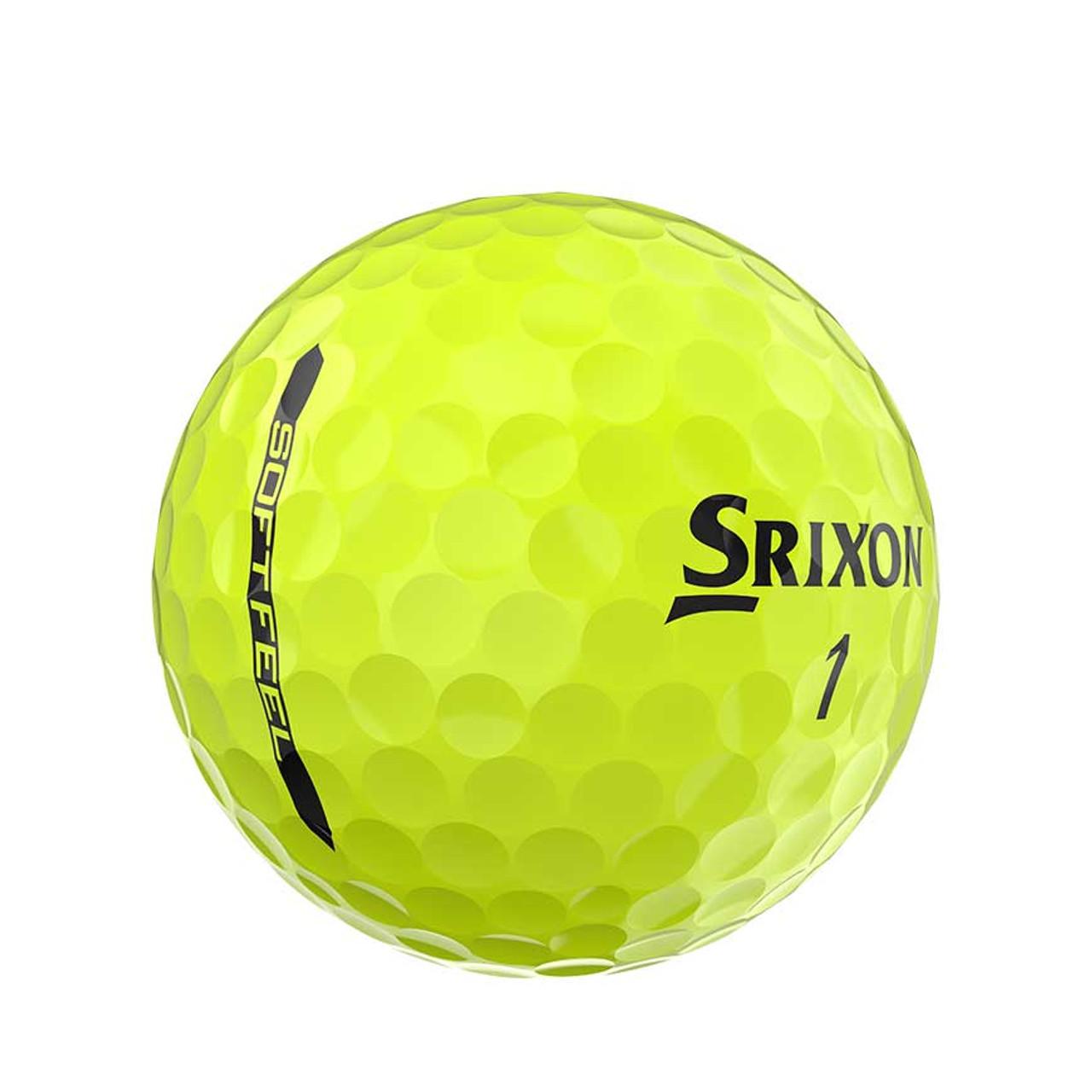 Srixon Soft Feel 12 Dozen Golf Balls - Yellow