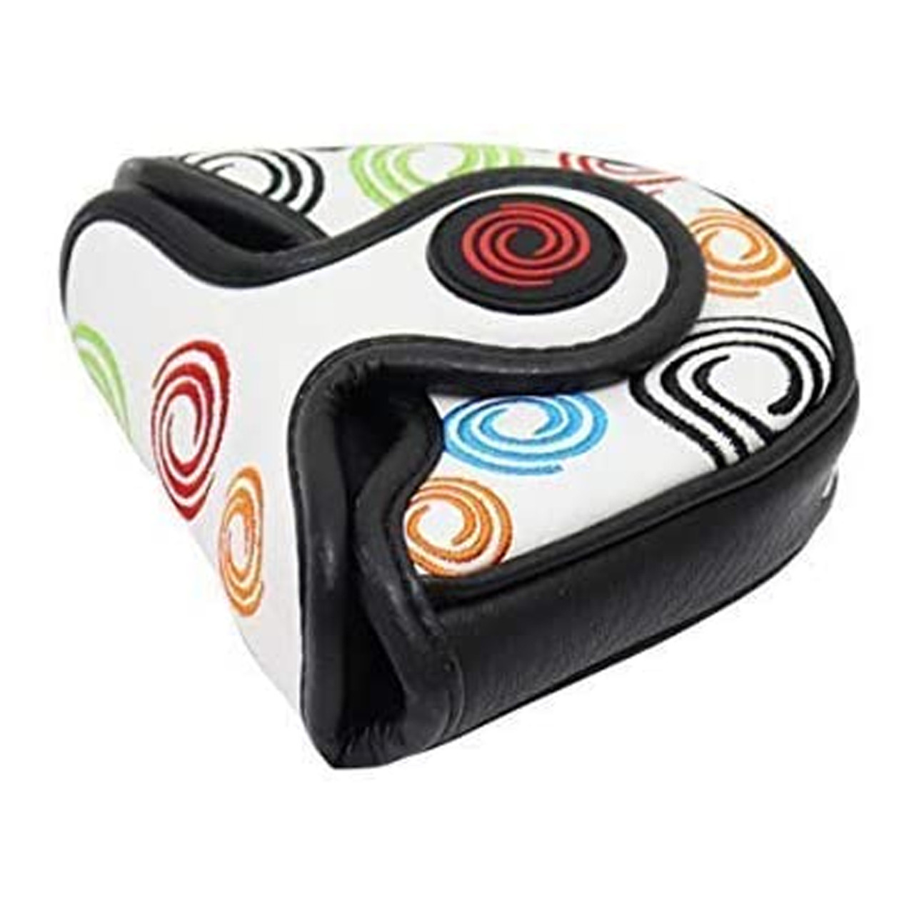 Odyssey Tour Swirl Mallet Putter Headcover - White