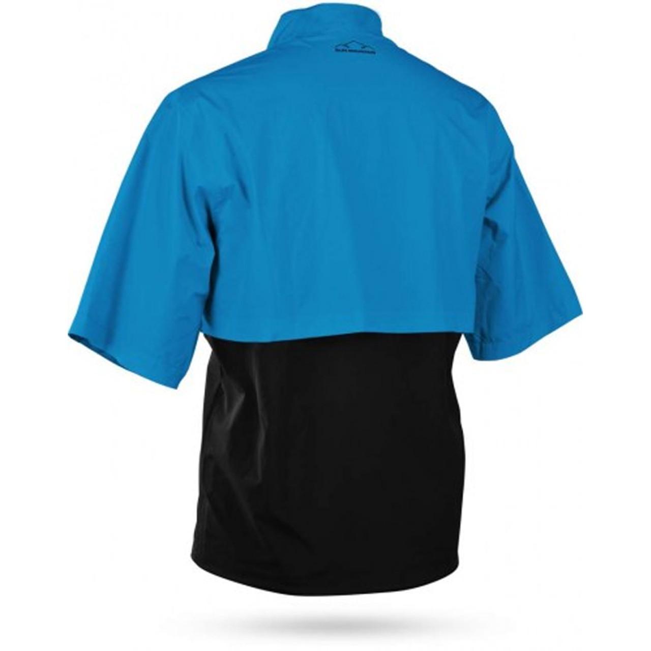 Sun Mountain Stratus Short Sleeve Pullover - Capri / Black