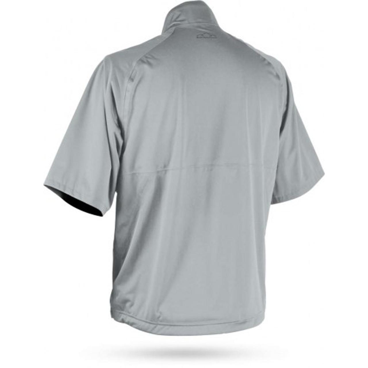 Sun Mountain RainFlex Elite Short Sleeve Pullover - Platinum