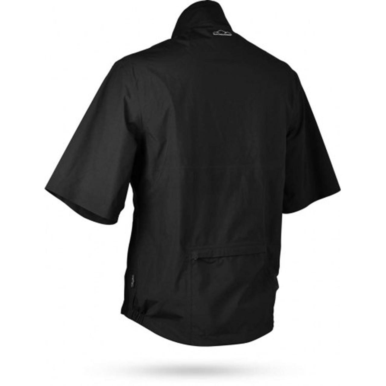 Sun Mountain Monsoon Short Sleeve Pullover - Black