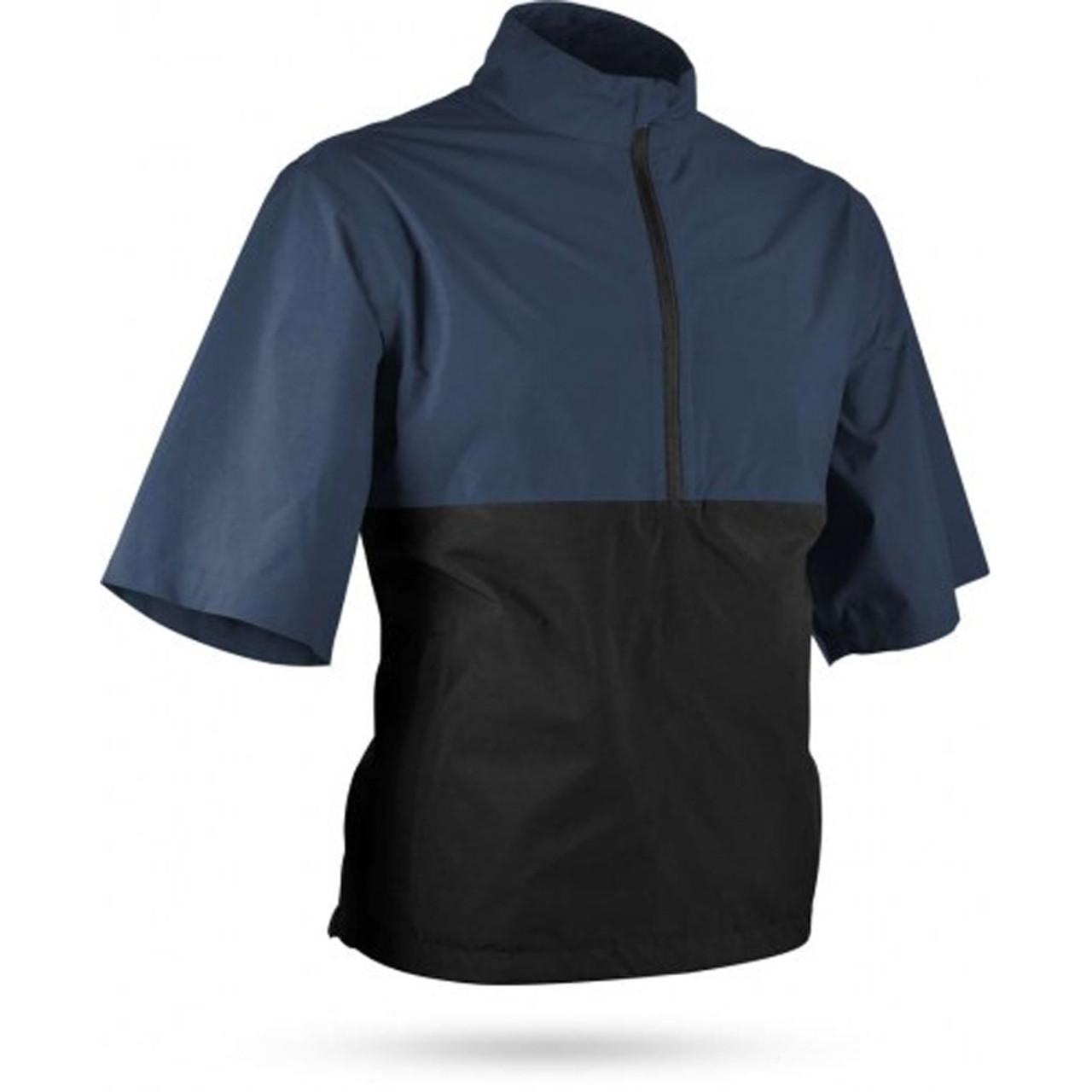 Sun Mountain Monsoon Short Sleeve Pullover - Navy / Black