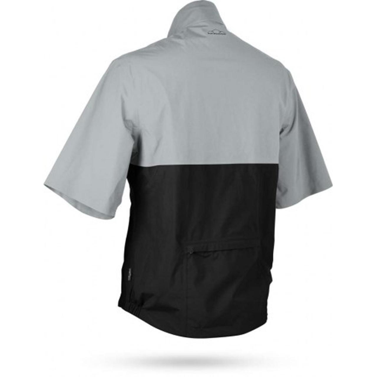 Sun Mountain Monsoon Short Sleeve Pullover - Platinum / Black
