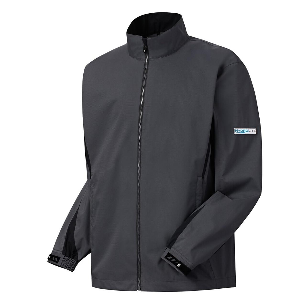 FootJoy FJ Hydrolite Rain Jacket - Charcoal / Black (23787)