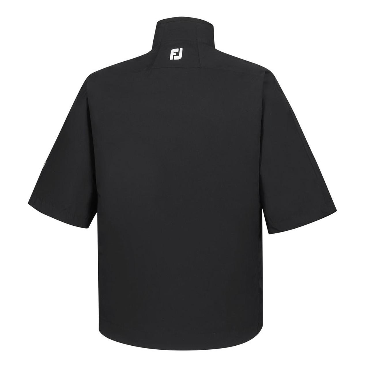 FootJoy FJ Hydrolite Short Sleeve Rain Shirt - Black (23700)