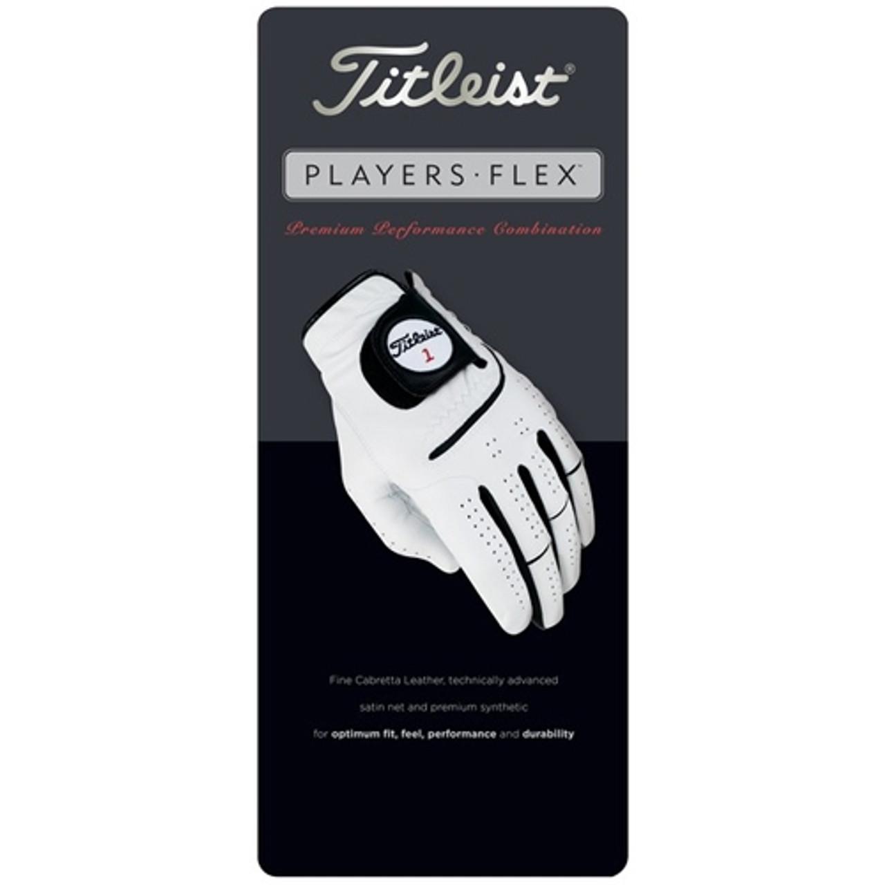 Titleist Players Flex Golf Gloves 6 Pack