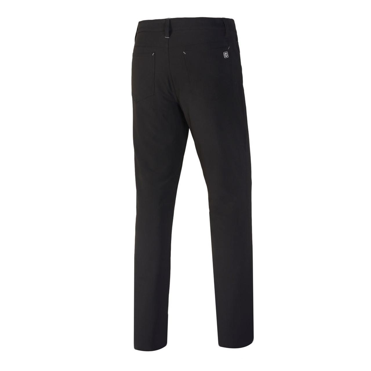 FootJoy Athletic Fit Performance 5-Pocket Pants - Black (24193)
