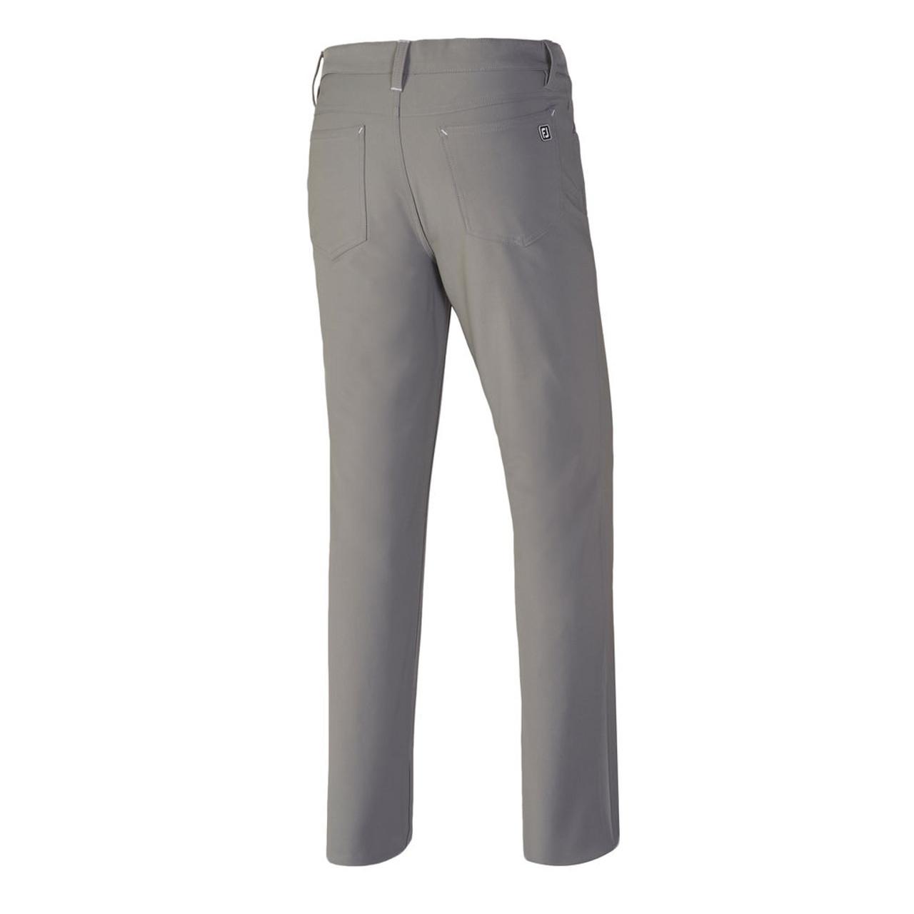 FootJoy Athletic Fit Performance 5-Pocket Pants - Grey (24354)