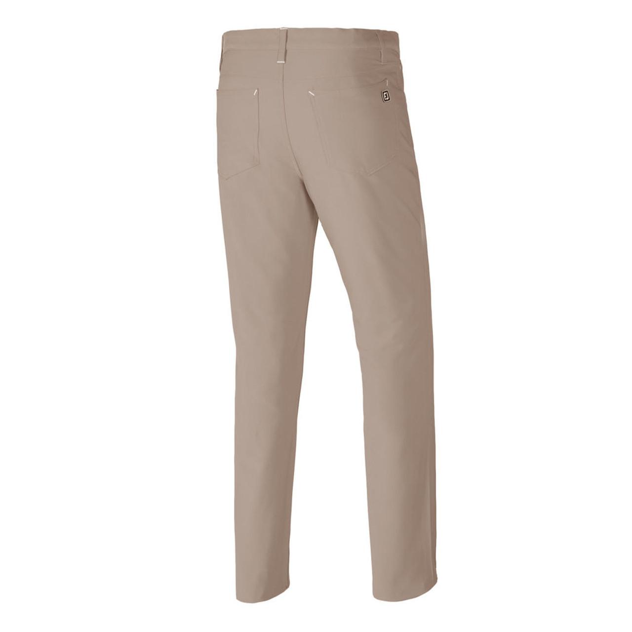 FootJoy Athletic Fit Performance 5-Pocket Pants - Khaki (24194)