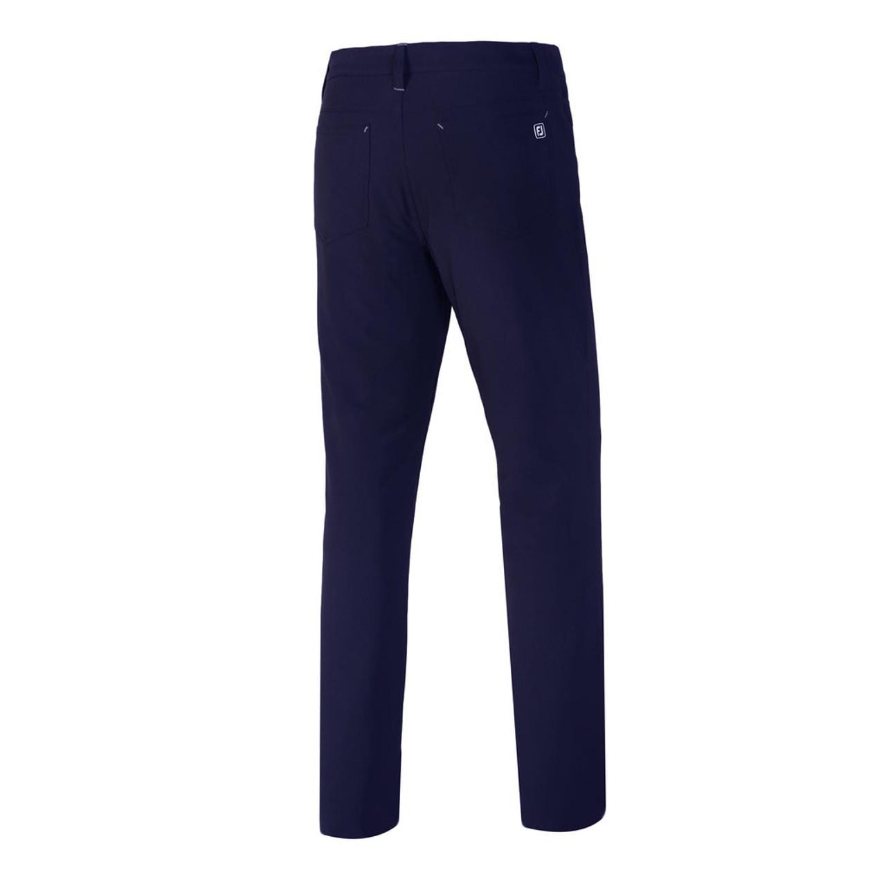 FootJoy Athletic Fit Performance 5-Pocket Pants - Navy (24353)