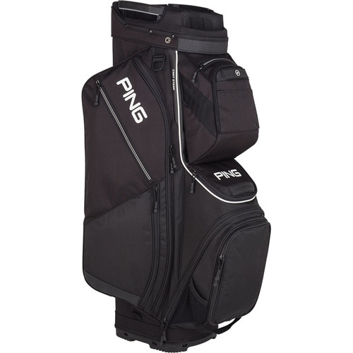 Ping Pioneer Personalized Cart Bags - Black