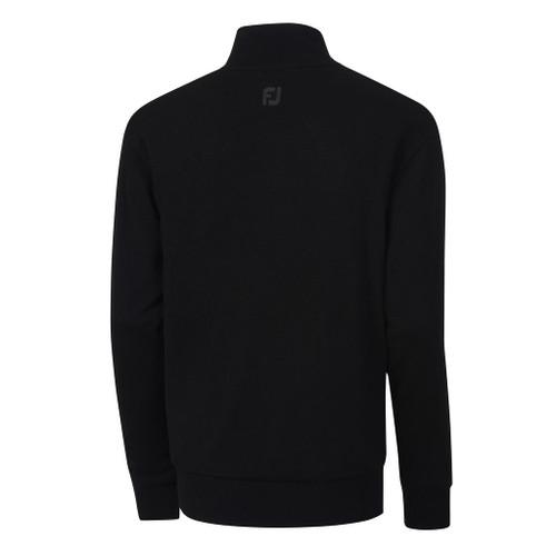 FootJoy Performance Lined 1/2 Zip Sweater - Black (33855)