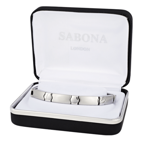 Sabona Ladies Stainless Elegance Magnetic Bracelet