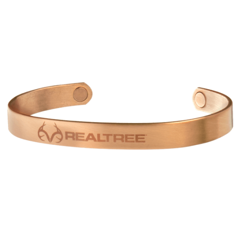 Sabona Realtree Brushed Copper Wristband