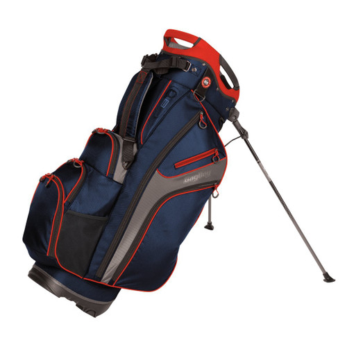 BagBoy Chiller Hybrid Stand Bag - Navy / Charcoal / Red