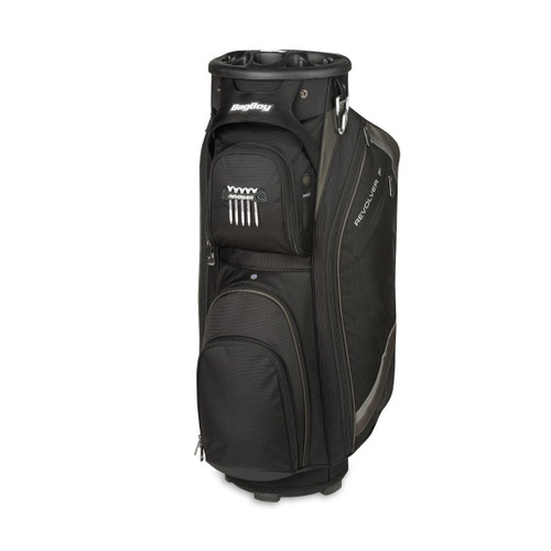 BagBoy Revolver FX Cart Bag - Black / Charcoal / Silver