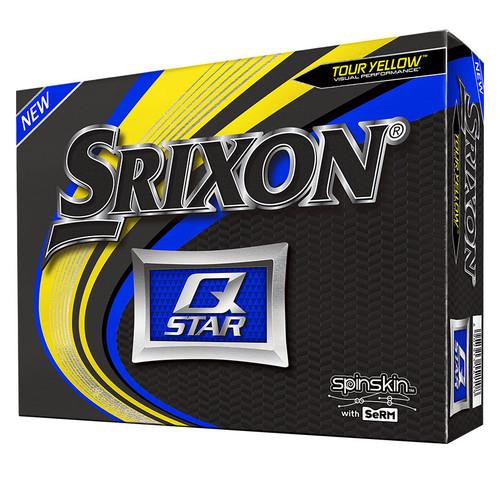 Srixon Q-Star Tour Yellow Dozen Golf Balls