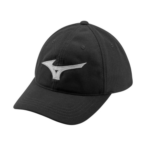 Mizuno Tour Adjustable Golf Cap - Black / Light Grey