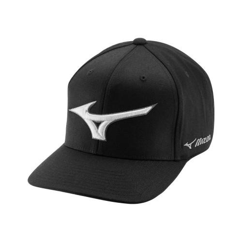 Mizuno Diamond Snapback Golf Cap - Black