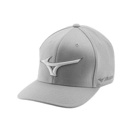 Mizuno Diamond Snapback Golf Cap - Grey / Red